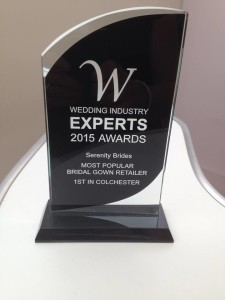 wedding experts award 2015 Colchester