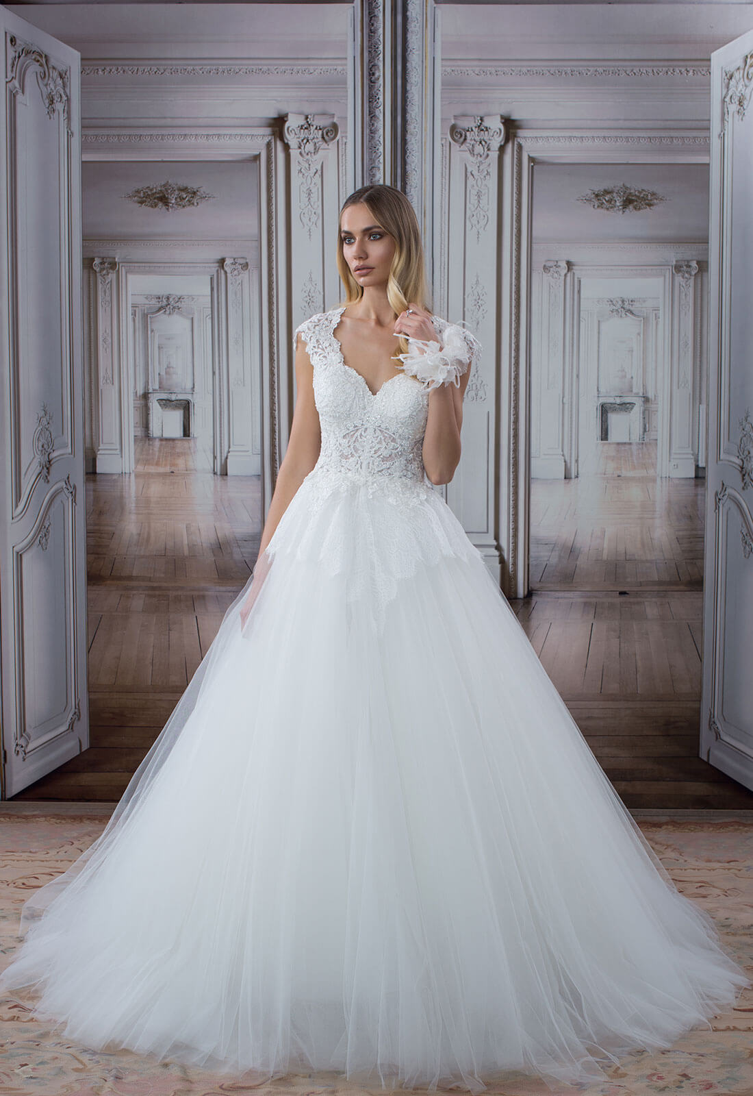 Pnina Tornai Ball Gown Wedding Dresses: Serenity Brides